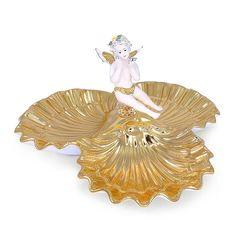 Керамическая тройная ракушка с ангелом LAGUNA от Migliore
