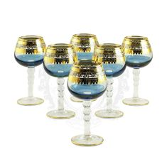 Набор хрустальных бокалов для коньяка ADRIATICA от Migliore