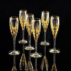 Хрустальные бокалы для шампанского BARON от Migliore