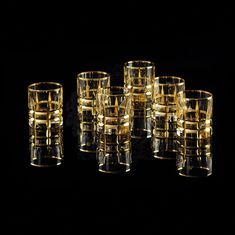 Хрустальные стаканы 300 мл BARON от Migliore