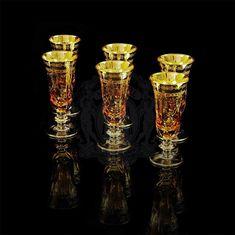Бокалы для шампанского DINASTIA AMBRA от Migliore