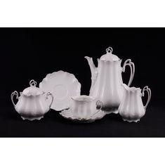 Сервиз чайный ВИКТОРИЯ ЭЛЕГАНТ, белый фарфор, от Leander