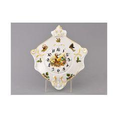 Часы настенные (гербовые) 27 см ОХОТА от Leander, фарфор