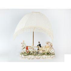 Светильник с абажуром Royal Classics, керамика, 62х50х20 см