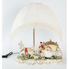 Светильник с абажуром Royal Classics, керамика, 18х48х65 см