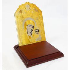 Икона Богородицы настольная от Zlatoust
