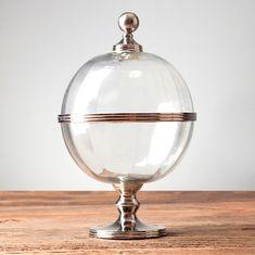 Емкость Глобус с крышкой от Roomers