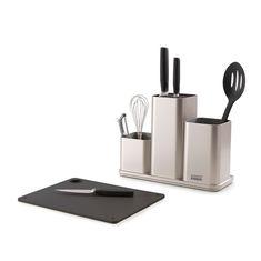 Органайзер для кухонной утвари настольный counterstore серебристый от Joseph Joseph