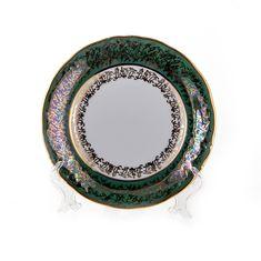 Набор тарелок ЛИСТ ЗЕЛЕНЫЙ от Carlsbad