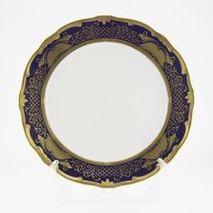 Набор тарелок 24 см СИМФОНИЯ КОБАЛЬТ
