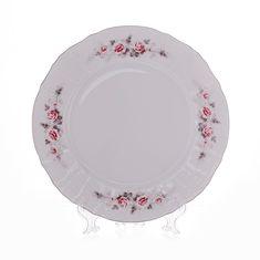 Набор тарелок СЕРАЯ РОЗА ЗОЛОТО от Bernadotte