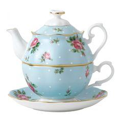 Набор для чая ГОЛУБАЯ ПОЛЬКА