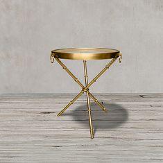 Стол приставной золотой от Roomers